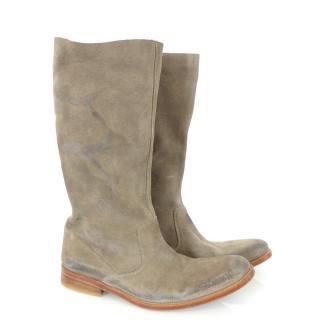 Zadig & Voltaire beige / Brown Phoenix Boots