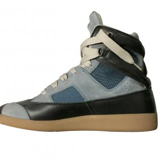Maison Martin Margiela Multi-Panel Suede and Leather Trainers