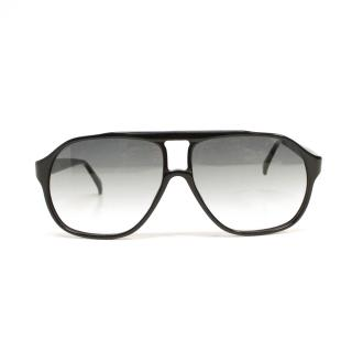 Simon Spurr Black Sunglasses