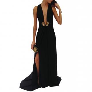 Roberto Cavalli Black Evening Dress