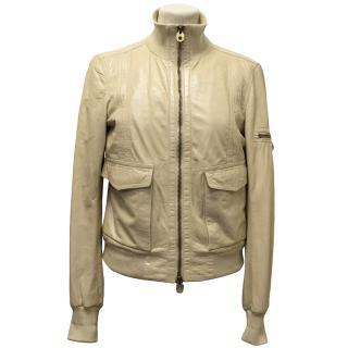 Bally Lamb Skin Jacket