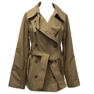 Yves Saint Luarent Tan Trench Coat