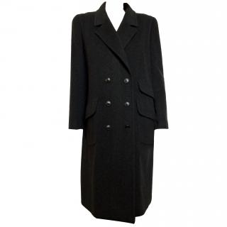 Chanel dark grey 100 % cashmere coat