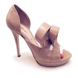 Jerome C Rousseau nude stilettos sandals 39