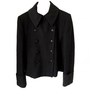 Alexander McQueen black coat
