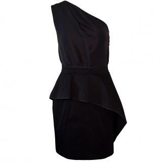Carven asymmetric one shoulder mini dress