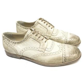 Dolce and Gabbana Distressed Brogues