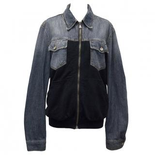 Dolce and Gabbana Unisex Denim And Cotton Jacket