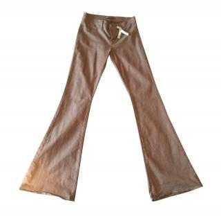 J Brand Bell Bottoms in Cedar Chest