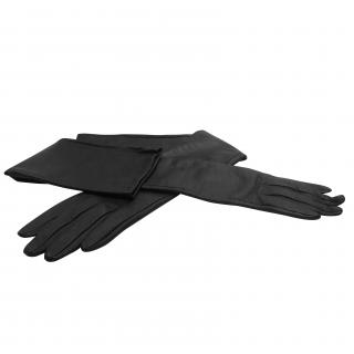 P.A.R.O.S.H full length leather gloves