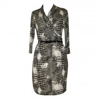 Catherine Malandrino silk jersey dress, size M