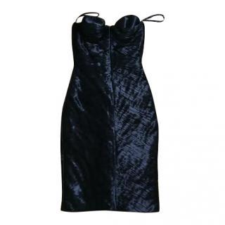 Burberry Prosum Black  Bustier dress