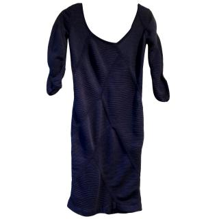 Pringle 1815 Navy Dress