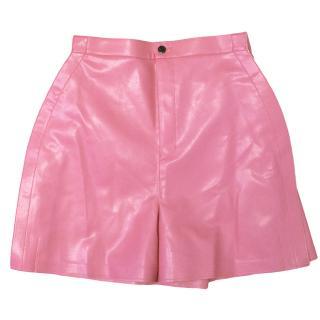 Junya Watanabe A line pink mini shorts