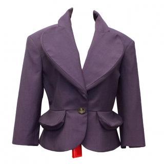 Vivienne Westwood Red Label Purple Blazer