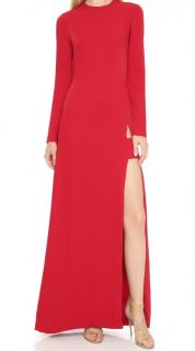 Jill Jill Stuart  Long Sleeve Maxi Dress with Slit