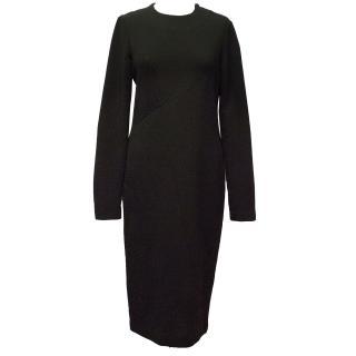 Merchant Archive Black Midi Dress
