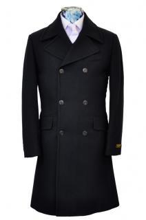 William Hunt Wool Coat Midnight Blue