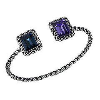 Swarovski Veni Rectangular Cuff Bangle Bracelet