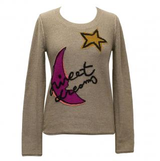 Sonia by Sonia Rykiel Brown Wool 'Sweet Dreams' Jumper