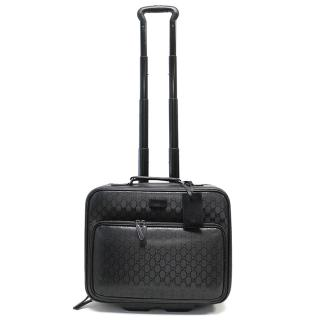 Gucci LogoWheeled Carry on Suitcase