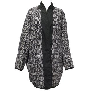 Isabel Marant Etoile Erba Cotton Blend Blanket Coat
