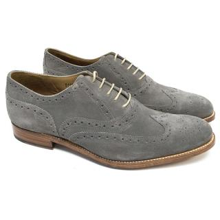 Grenson Grey Brogues