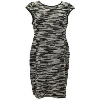 Derek Lam Boucle-Knit Cotton Blend Dress