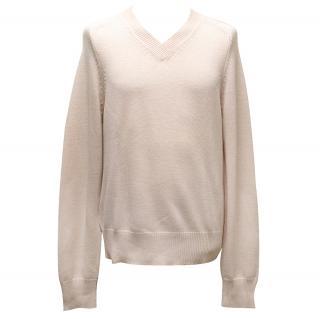 Marc Jacobs Pink Wool Blend Jumper