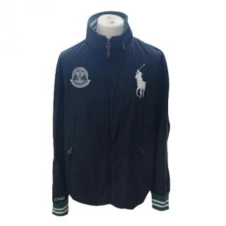 Ralph  Lauren Wimbledon 125th Anniversary Windbreaker French Navy