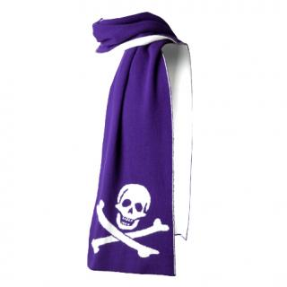 Udeshi Signature skull and cross bones scarf