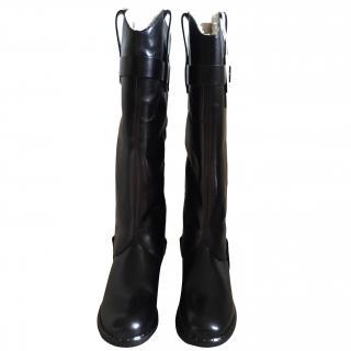 UGG leather stirrup boots