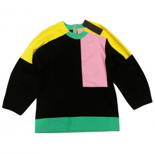 Roksanda colour block blouse