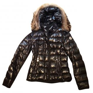 Moncler Puffer Jacket with Real Fur Hood