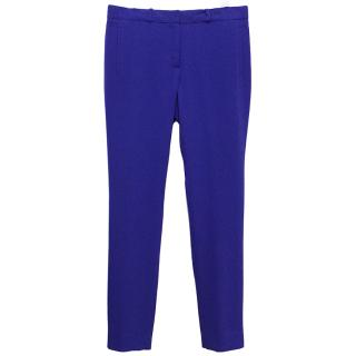 Joseph Colbalt Blue Trousers