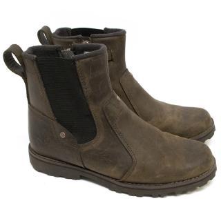 Timberland Brown Leather Boota