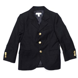 Marie Chantal Navy Blue  Blazer with Gold Buttons