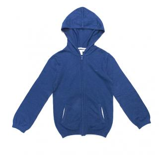 Marie Chantal Blue Knit Hoddie