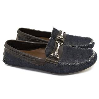 Dolce & Gabbana Denim Loafers