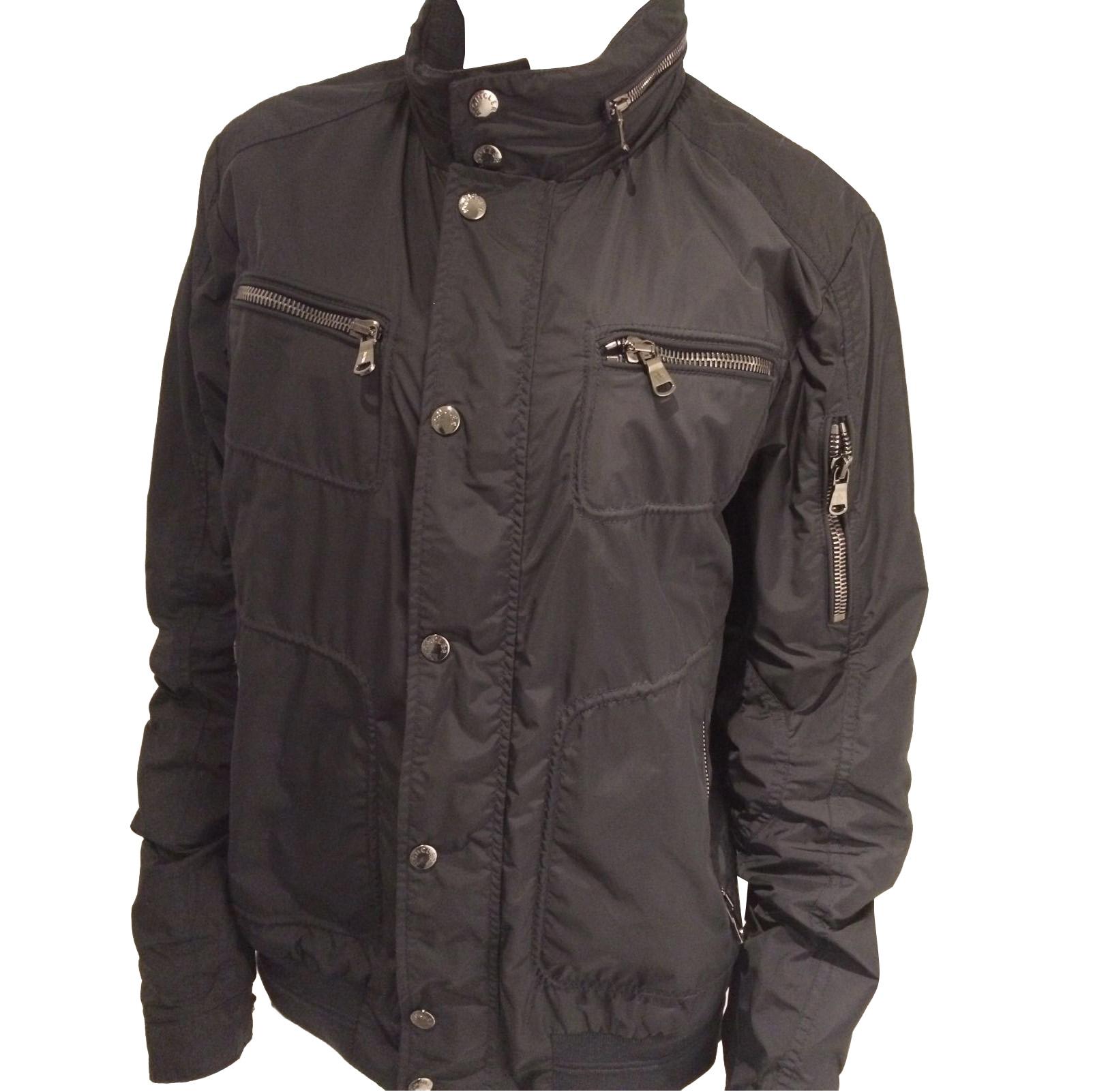 897c3741454a Moncler Navy Blue Bomber Jacket