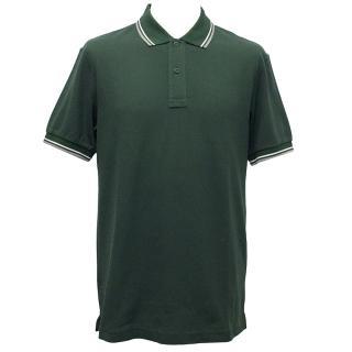 Prada Green Pique Polo