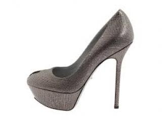 Sergio Rossi Cachet Grey Pumps