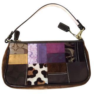 Coach cPatchwork Shoulder/Clutch bag