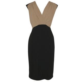 Jaeger colour block dress