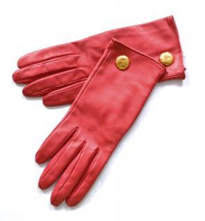 Christian Lacroix vintage leather gloves