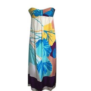 Tibi silk maxi dress. Size Small