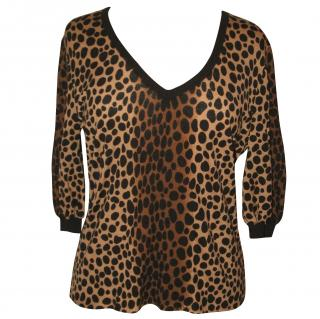 Moschino animal print jumper, size 16