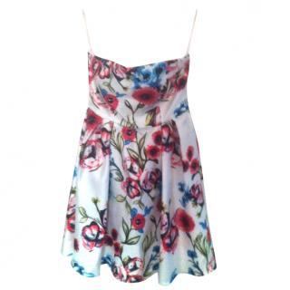 Dolores Promesas floral strapless dress