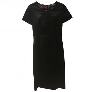 D&G Satin Short Sleeve Dress
