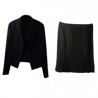 Marella Black Skirt Suit